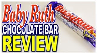 Baby Ruth Chocolate Bar Review
