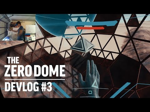 The Zero Dome Devlog #3 - SteamVR on Windows Mixed Reality Gameplay