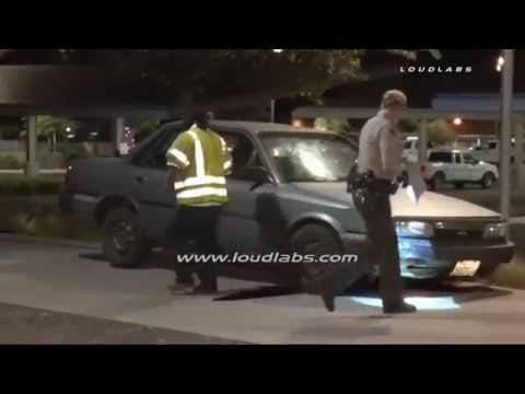 Police Station Traffic Collision / Hesperia  RAW FOOTAGE