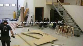 Construction bateau video 1