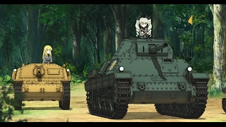 BEST TANK FIRE SCENE SPECIAL(Girls und Panzer Ova 7:This is the real Anzio battle これが本当のアンツィオ戦です!)
