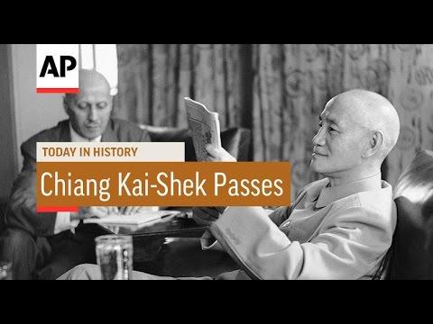 Chiang Kai-Shek Passes - 1975 | Today In History | 5 Apr 17
