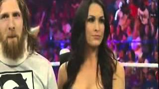 Payback 2014 : Segment with Daniel Bryan, Brie Bella and Stephanie McMahon