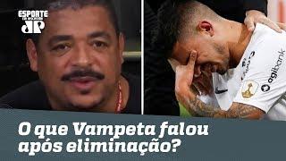OLHA o que Veta falou após queda do Corinthians na Liberta