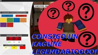 I GET A LEGENDARY KAGUNE/SUPER RARE!?   Roblox: Ghouls: Bloody Nights English