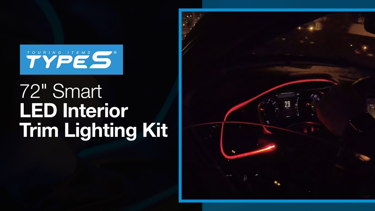 Type S Panel Amp Trim Lights Youtube