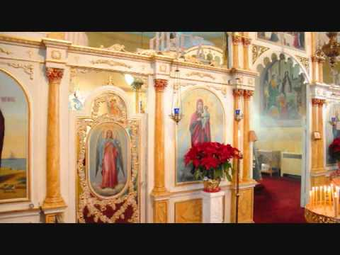 Kursk Icon visits St. Basil's Church in Simpson, PA