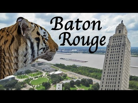 Louisiana State University & Capitol In Baton Rouge