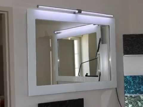 Thermopan diffusion miroirs chauffants s che serviettes tableaux chauffants - Seche serviette miroir ...