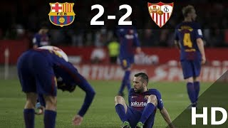 Barcelona VS Sevilla  2-2 All Goals Highlights 31/03/2018 HD