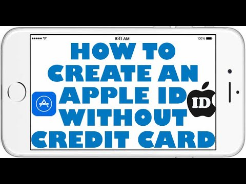 How To Create An Apple ID/ iCloud ID Without Credit Card ...