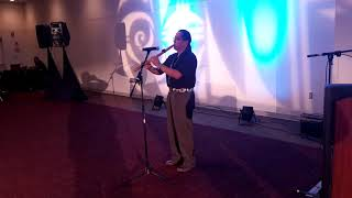 NCAI 2019 NATIONAL CONGRESS OF AMERICAN INDIANS Welcome Reception   Opening Andrew Thomas Flute