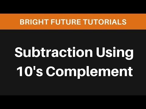 Decimal Subtraction Using 10s Complement