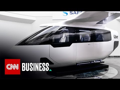 Fly inside Uber's new air taxi cabin