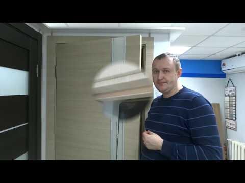 Как отличить двери с покрытием экошпон от пвх