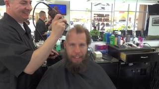 NoDQ.com's Aaron Rift gets his head and Wrestlemania protest beard shaved off thumbnail