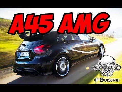 Mercedes A45 AMG #BOISERIE