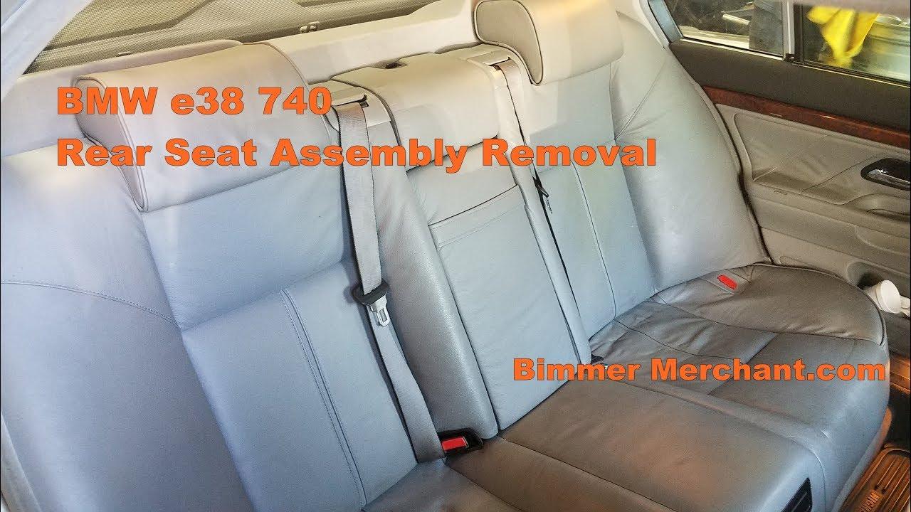 bmw e38 740 750 rear  [ 1280 x 720 Pixel ]