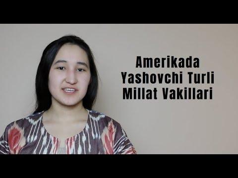 Amerikada Yashovchi Turli Millat Vakillari Uchrashdi..//Uzbek Vlogs