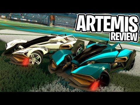 O NOVO CARRO DO ROCKET PASS É BOM? ARTEMIS, REVIEW E GAMEPLAY - Rocket League thumbnail