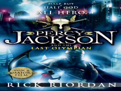 Rick Riordan - Percy Jackson and the Last Olympian (audiobook ...