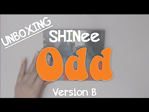Unboxing: SHINee Odd Version B
