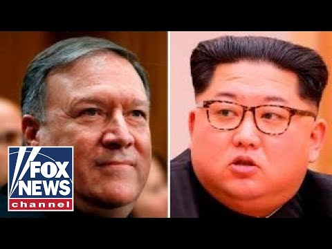 Pompeo has secret sit down with North Korea's Kim Jong Un