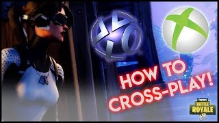 HOW TO CROSSPLAY ON FORTNITE WITH PC/PS4/XBOX!