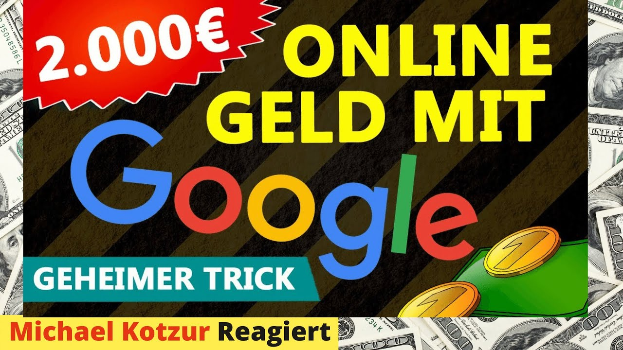 online geld verdienen anfänger