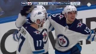 NHL Highlights   Jets vs Blues, Game 3 – April 14, 2019