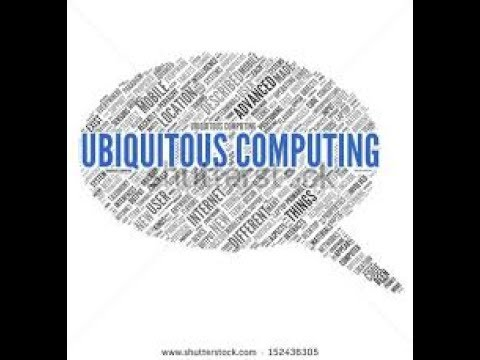 What is ubiquitous computing and pervasive computing ?