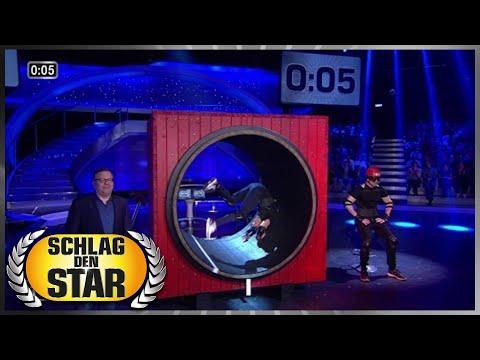 Spiel 3 - Das Laufrad - Schlag den Star