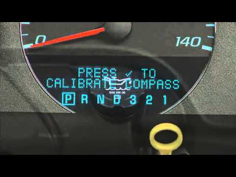 Chevrolet Impala How To Use Driver Information Center