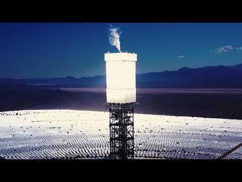 Ivanpah Solar Plant by Drone