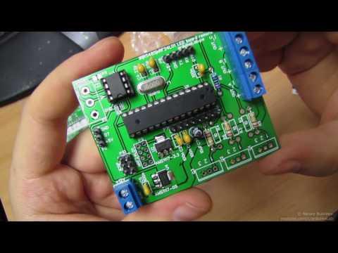 Arduino совместимая платформа, с MOSFET, NRF24l01 и RS485
