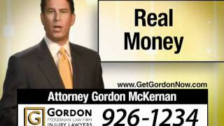 Baton Rouge Attorney Car Wreck Automobile Accident - Gordon McKernan - Real Money