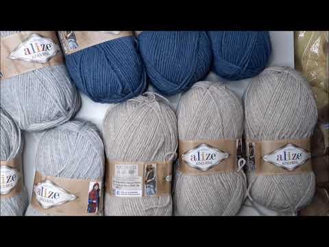Какие нитки нужны для вязания шапки спицами