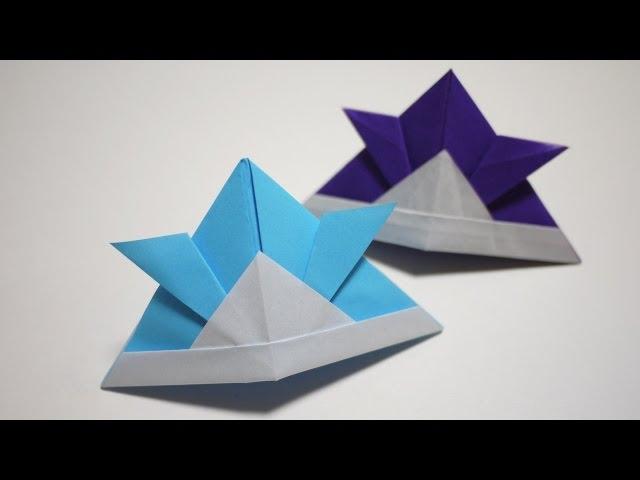 ハート 折り紙:折り紙 かぶと 新聞紙-divulgando.net