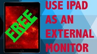 How Use Ipad External Monitor Free