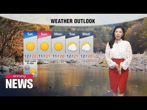 [Weather] Autumn Rain In Store, East Coast And Jeju To See Rain Into Saturday