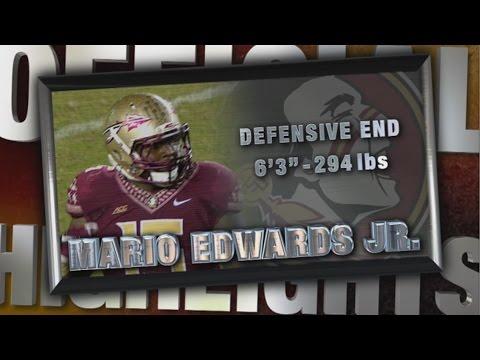2014 Official Highlights | FSU DE Mario Edwards