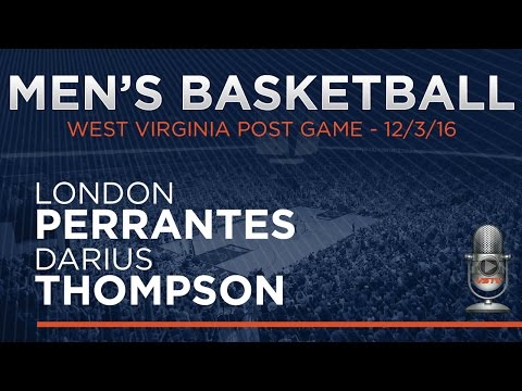MEN'S BASKETBALL: West Virginia Post Game - Players