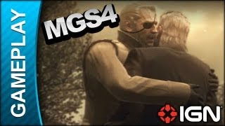 Metal Gear Solid 4 - Debriefing: Big Boss Returns - Gameplay