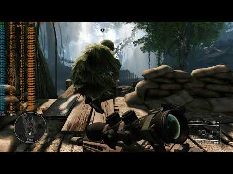 GTX285 Gaming 2021: Sniper Ghost Warrior 2 (Very High Preset with Dual Xeon e5 2670)  