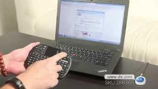 Wireless 2.4GHz USB Mini Keyboard -- DX.COM