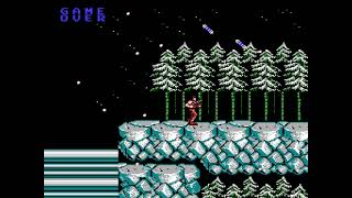 """[TAS] NES Contra """"pacifist"""" by Mars608 & aiqiyou in 08:47.81"""