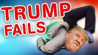 Trump Fails   Funny Trump Compilation