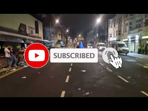Live Video from Brighton West Street after England Beat Denmark in the Euro 2021