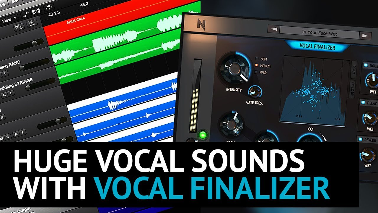 Huge Vocal Sounds with Vocal Finalizer Plugin by NoiseAsh