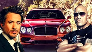 Dwanye Johnson 'The Rock' Vs Robert Downey Jr - Celebrity Car Collection